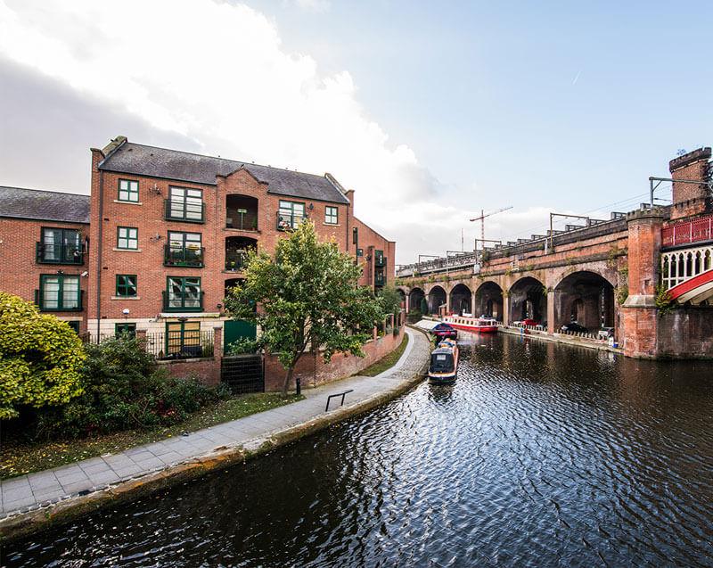 Deansgate locks Manchester
